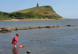 Clavell Tower Kimmeridge Bay
